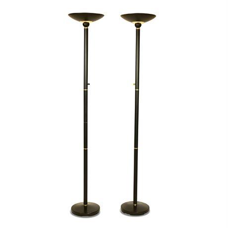 Pair Floor Lamps