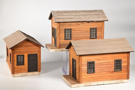 Three G-Scale Bunk Houses