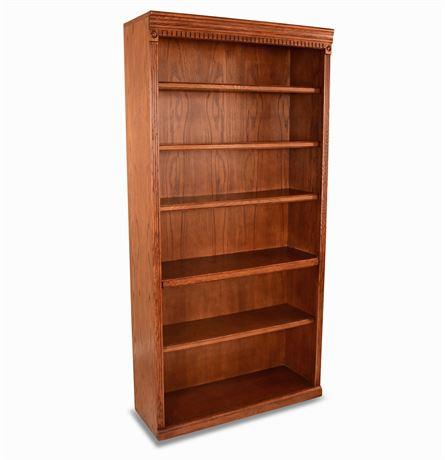 Classic Solid Oak Bookcase