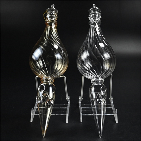 Large Hand Blown Ornaments