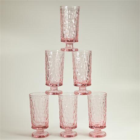 Fostoria Pink Glasses