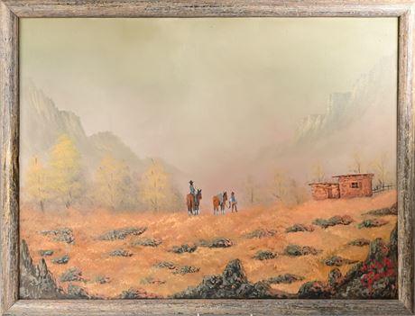 Original Oil on Canvas by Luis R. Garcia