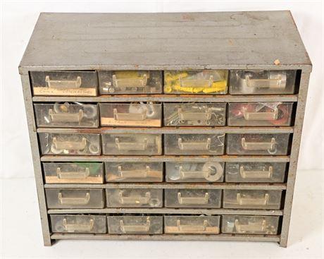 Vintage Hardware Organizer