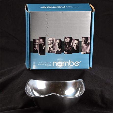 Nambé Tri-Corner Bowl