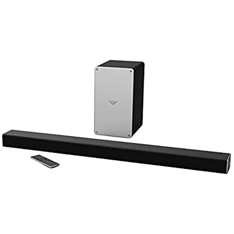 "Vizio 36"" 2.1 Channel Soundbar System - Bluetooth Enabled - Wireless"
