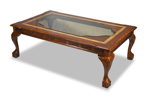 Clawfoot Cocktail Table