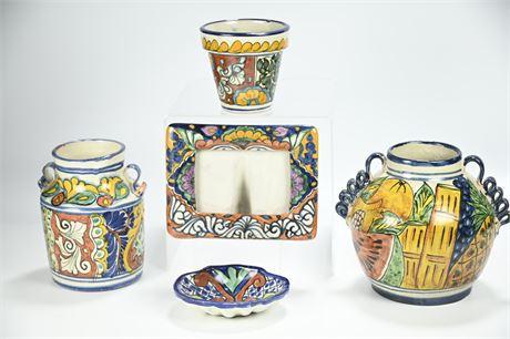 Talavera Pieces