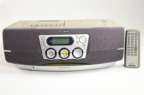 Sony CD Radio Cassette-Recorder