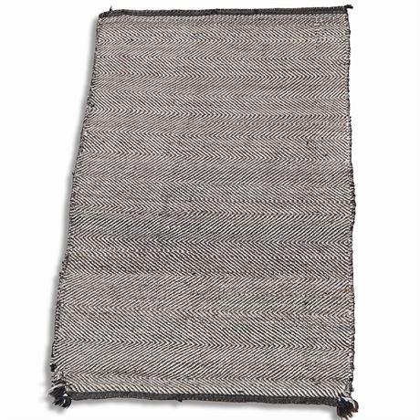 Rare 1920-1940's Tweed Navajo Weaving