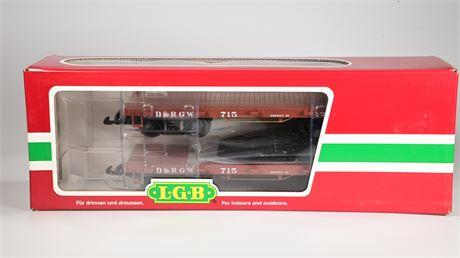 LGB - Lehmann # 47600 Flatbed Cars