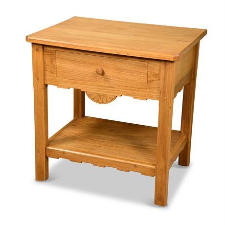 Southwest Oak Side Table