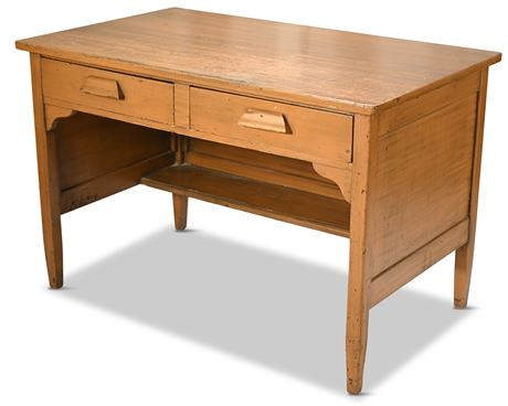 Antique Government Issued Schoolhouse Desk