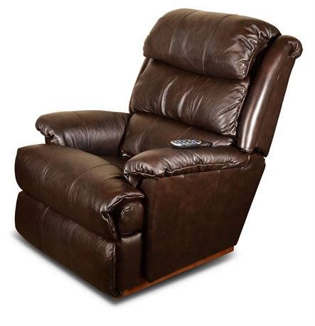 Lay-Z-Boy Leather Power Recliner