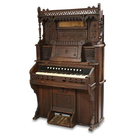 Antique Durand Pump Organ As Is