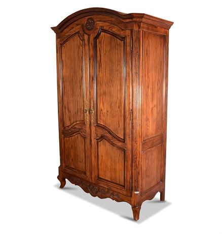 Large French Provincial Armoire