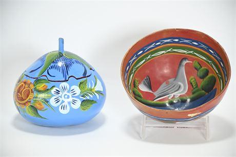 Mexican Gourd Folk Art
