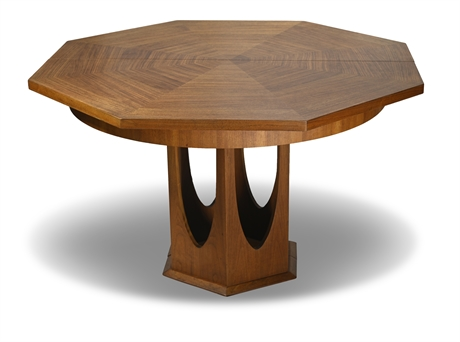 Mid-Century Dining Table in The Style of Harvey Probber