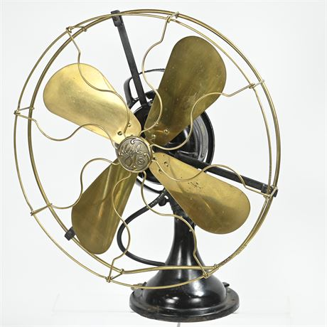 Antique GE Oscillating Fan