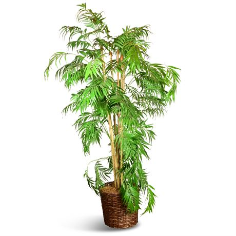 Faux Bamboo Tree