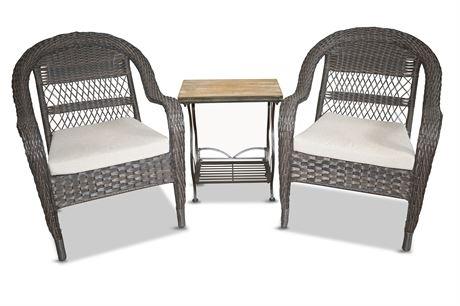 Hampton Bay Wicker Style Patio Seating
