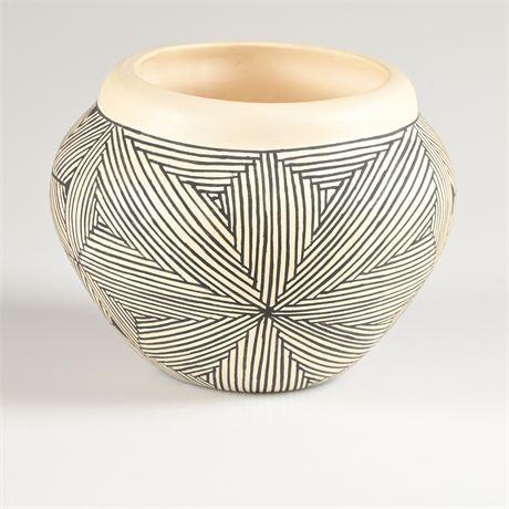 Acoma Pueblo Pottery By Victoria