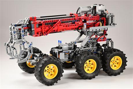 Lego Technics 6x6 Custom Creation