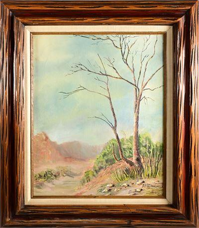 Arizona Tree Top Original Oil on Canvas