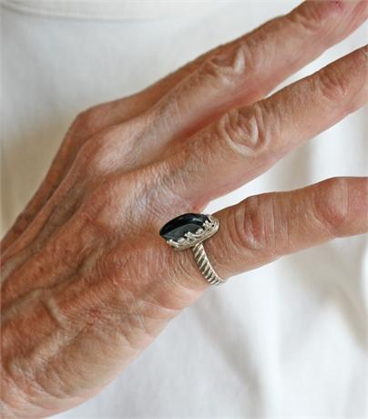 Bobbie Hutson Onyx Ring
