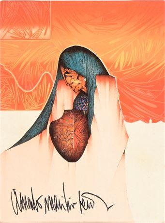 Amado Peña Print on Canvas