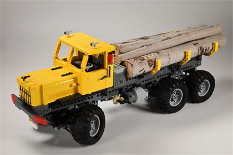 Lego T14 Truck & Logging Trailer