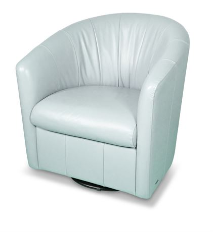 Natuzzi Editions Veronica Swivel Accent Chair