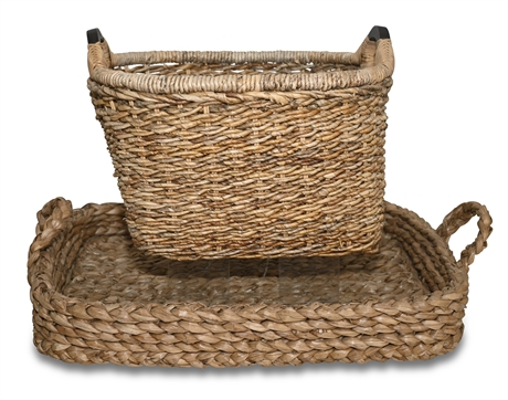 Large Handled Baskets