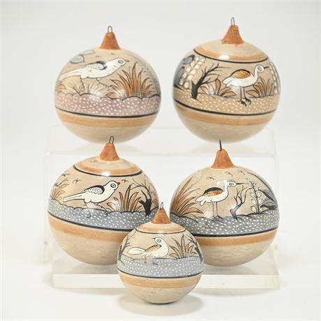 Vintage Jimón Tonala Ornaments