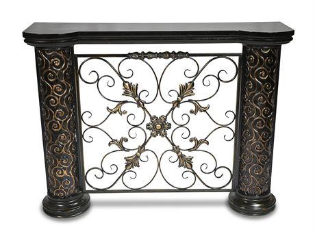 Mantel Style Console Table