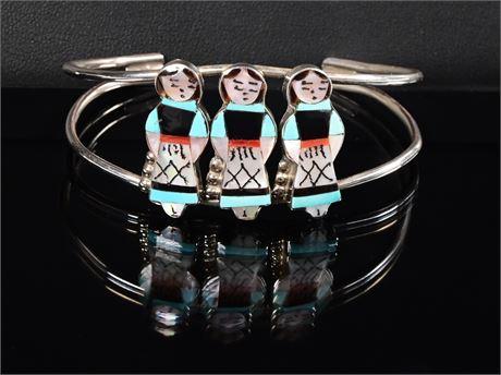 Zuni Maidens Bracelet by J. Wasita