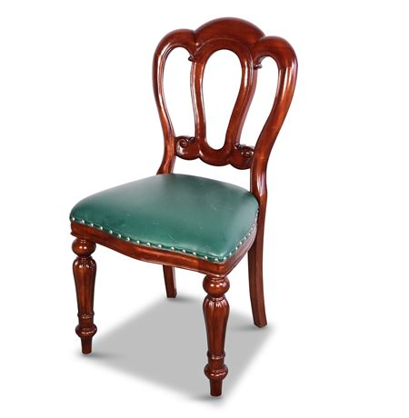 Admiralty Flute Leg Side Chair