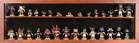 Collection of 29 Miniature Kachinas