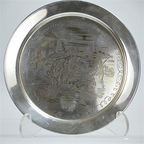 STERLING SILVER: 7.74 OZT Danbury Mint