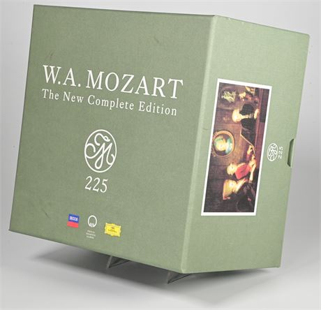 Mozart 225: The New Complete Edition [200 CD Box Set]