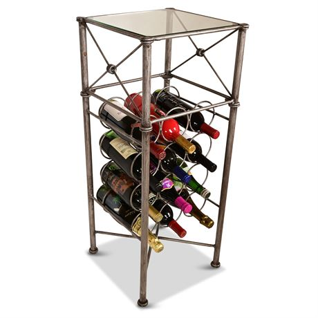 """34"""" """"Medici"""" Wine Storage"""