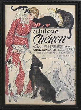 Steinlen Framed Print