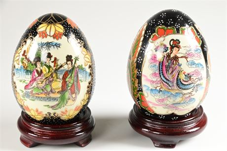 Yi Lin Arts Hand Painted Eggs