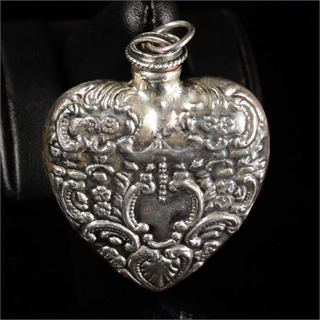 Sterling Repousse Chatelaine
