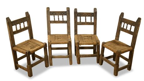 Antique Diminutive Side Chairs