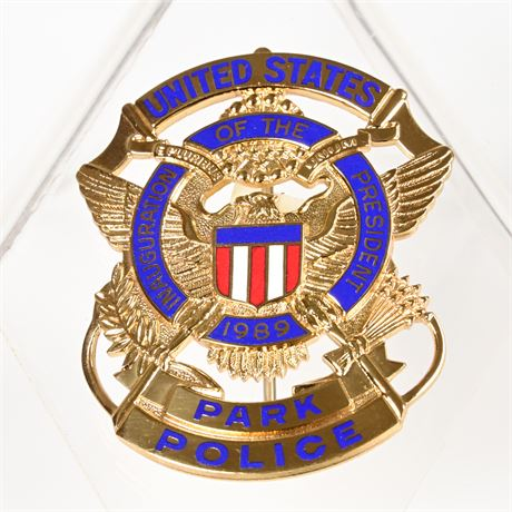 Inauguration Park Police Badge