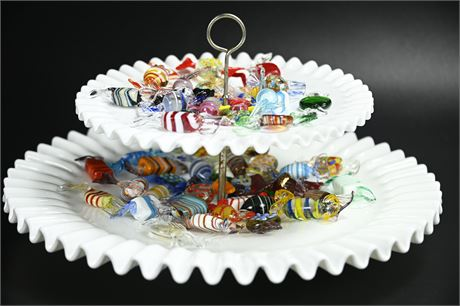 Murano Blown Glass Candy Collection