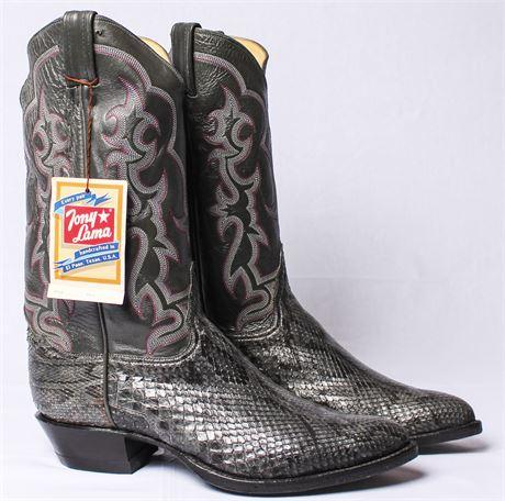 Tony Lama Women's Snakeskin Boots