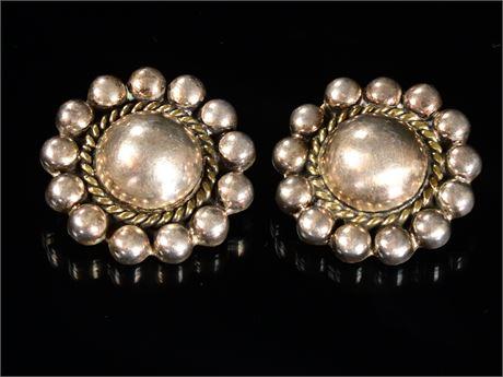 Vintage Taxco Sterling Earrings