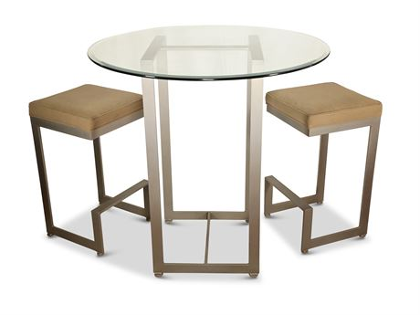 Johnston Casuals 4-Score Pub Table and Stools