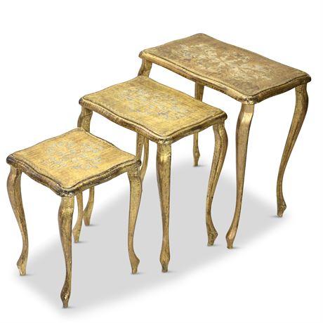 Gilded Italian Nesting Tables
